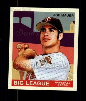 2007 Upper Deck Goudey Green Backs #62  Joe Mauer