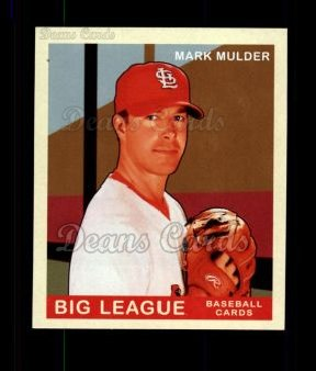 2007 Upper Deck Goudey Green Backs #75  Mark Mulder