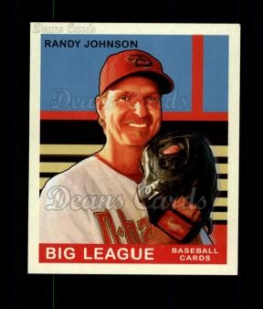 2007 Upper Deck Goudey Green Backs #86  Randy Johnson