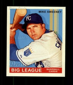 2007 Upper Deck Goudey Red Backs #144  Mike Sweeney