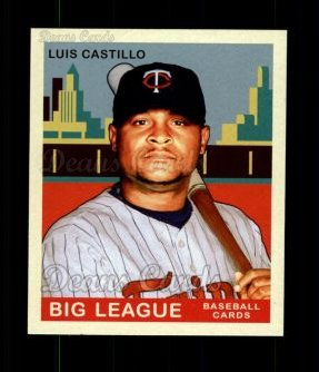 2007 Upper Deck Goudey Red Backs #145  Luis Castillo