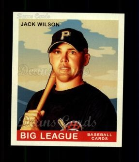 2007 Upper Deck Goudey Red Backs #174  Jack Wilson