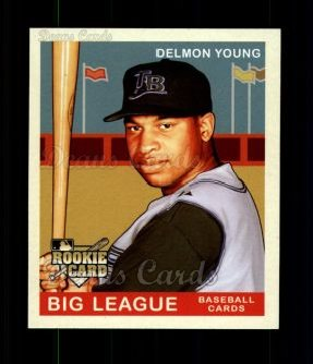 2007 Upper Deck Goudey Red Backs #197  Delmon Young