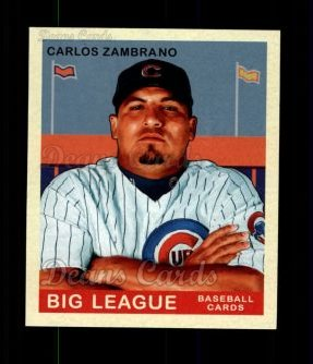 2007 Upper Deck Goudey Red Backs #24  Carlos Zambrano