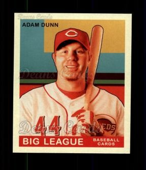 2007 Upper Deck Goudey Red Backs #4  Adam Dunn