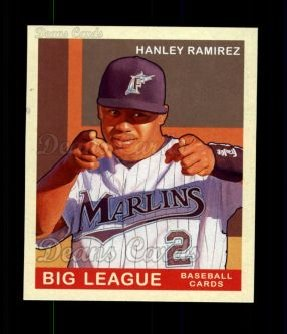 2007 Upper Deck Goudey Red Backs #46  Hanley Ramirez
