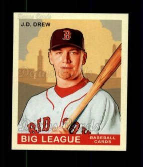 2007 Upper Deck Goudey Red Backs #47  J.D. Drew