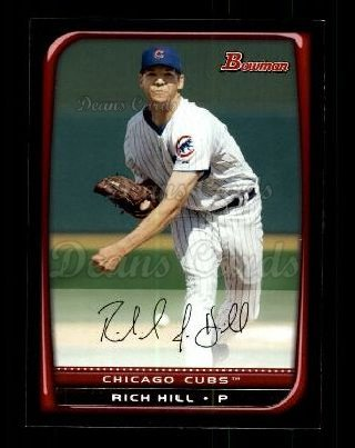 2008 Bowman #108  Rich Hill