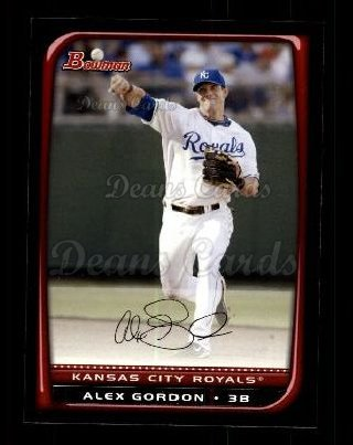 2008 Bowman #73  Alex Gordon