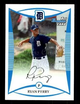 2008 Bowman Draft Prospect #13 BDPP Ryan Perry