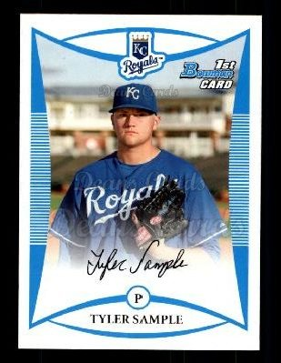 2008 Bowman Draft Prospect #29 BDPP Tyler Sample