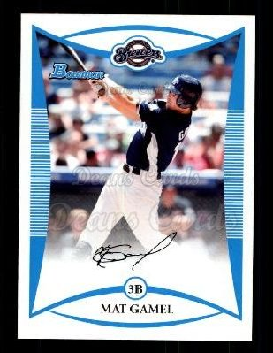 2008 Bowman Draft Prospect #83  Mat Gamel