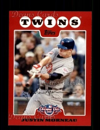 2008 Topps Opening Day #49  Justin Morneau