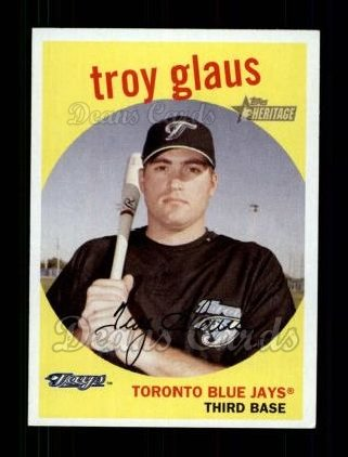 2008 Topps Heritage #106  Troy Glaus