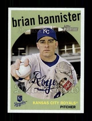 2008 Topps Heritage #152  Brian Bannister