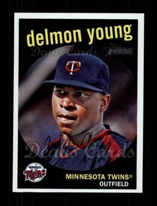 2008 Topps Heritage #171  Delmon Young