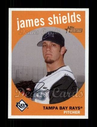 2008 Topps Heritage #191  James Shields