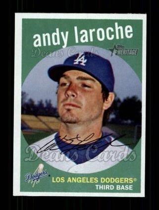 2008 Topps Heritage #214  Andy LaRoche