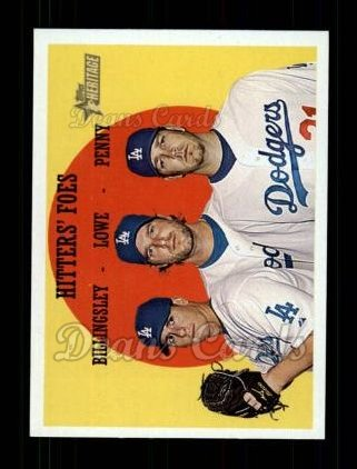 2008 Topps Heritage #262  Chad Billingsley