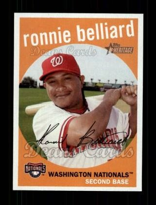 2008 Topps Heritage #301  Ronnie Belliard