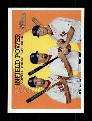 2008 Topps Heritage #392  Mike Lowell