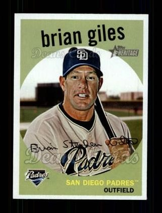 2008 Topps Heritage #455  Brian Giles