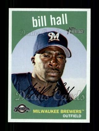 2008 Topps Heritage #49  Bill Hall