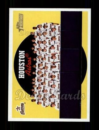 2008 Topps Heritage #613   Houston