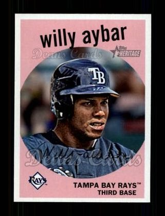 2008 Topps Heritage #673  Willy Aybar