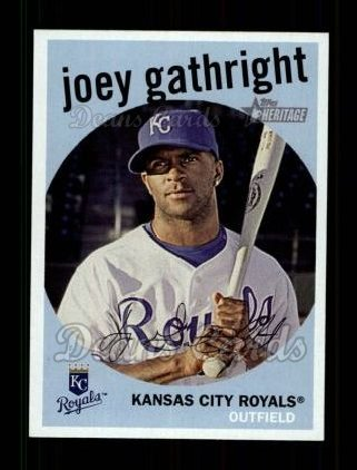 2008 Topps Heritage #7  Joey Gathright