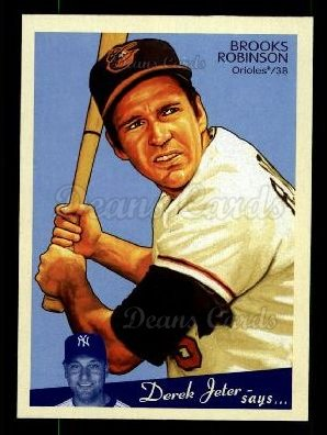 2008 Upper Deck Goudey #201  Brooks Robinson