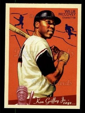 2008 Upper Deck Goudey #227  Willie McCovey