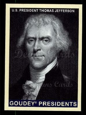 2008 Upper Deck Goudey #232  Thomas Jefferson