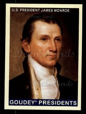 2008 Upper Deck Goudey #234  James Monroe