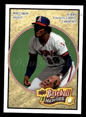2008 Upper Deck Heroes #103  Rod Carew