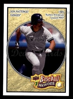 2008 Upper Deck Heroes #125  Don Mattingly