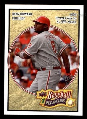 2008 Upper Deck Heroes #133  Ryan Howard