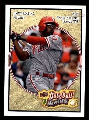 2008 Upper Deck Heroes #134  Jimmy Rollins