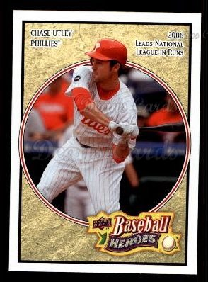 2008 Upper Deck Heroes #135  Chase Utley