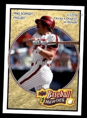 2008 Upper Deck Heroes #138  Mike Schmidt