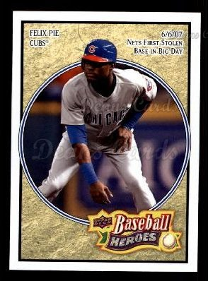 2008 Upper Deck Heroes #142  Felix Pie