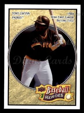 2008 Upper Deck Heroes #147  Tony Gwynn
