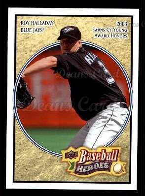 2008 Upper Deck Heroes #169  Roy Halladay