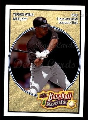 2008 Upper Deck Heroes #170  Vernon Wells