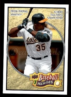 2008 Upper Deck Heroes #172  Frank Thomas