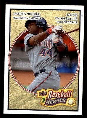 2008 Upper Deck Heroes #174  Lastings Milledge