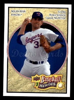 2008 Upper Deck Heroes #35  Nolan Ryan