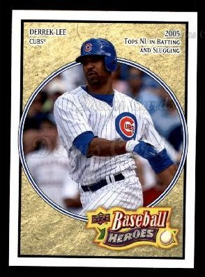 2008 Upper Deck Heroes #38  Derrek Lee