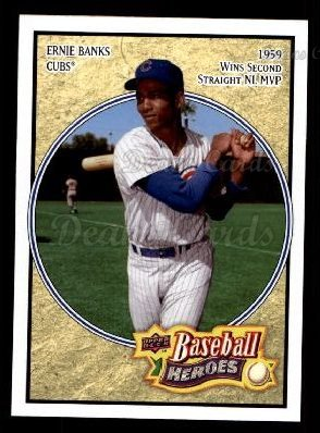 2008 Upper Deck Heroes #41  Ernie Banks