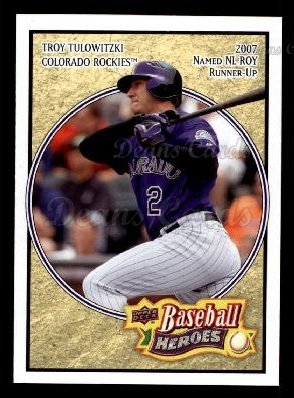 2008 Upper Deck Heroes #57  Troy Tulowitzki
